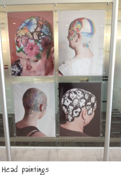 Head paintings