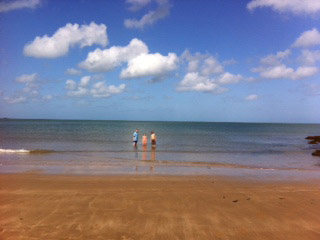 paddling in Devon