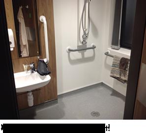 My en-suite bathroom - excellent