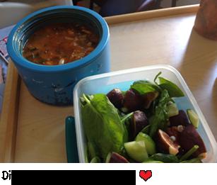 Diane's life saving meal - yum!
