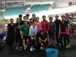 Velodrome team shot