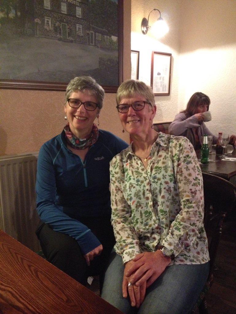 Anne & Gisela's 300 mile walk