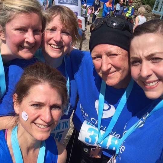 Oldham 7k run 5 days after my chemo