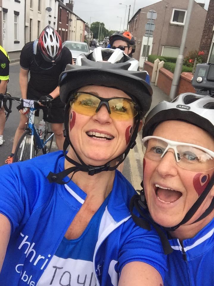 Mcr - Bpool 62 mile bike ride 2016