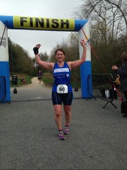 Oldham triathlon - Jo